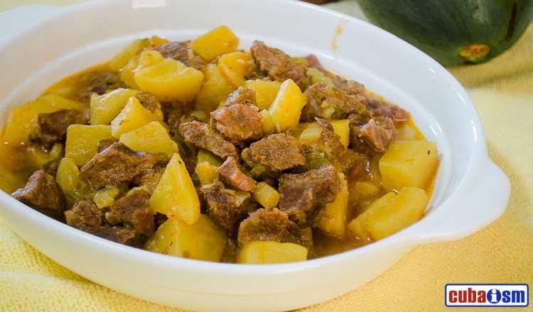 cuba recipes .org - Cuban Beef and Potatoes
