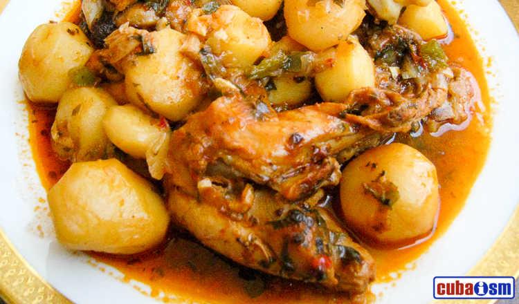 cuba recipes .org - Cuban Chicken Fricassee
