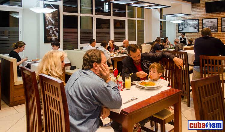 cuba recipes .org - El Biky restaurant in Central Havana, Cuba