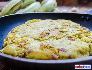 cuba recipes .org - Fufú de Plátano (Cuban Mashed Plantain)