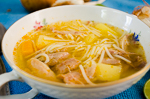 Chicken Soup Cuban Style