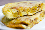 cuba recipes .org - Sweet Plantain Omelet